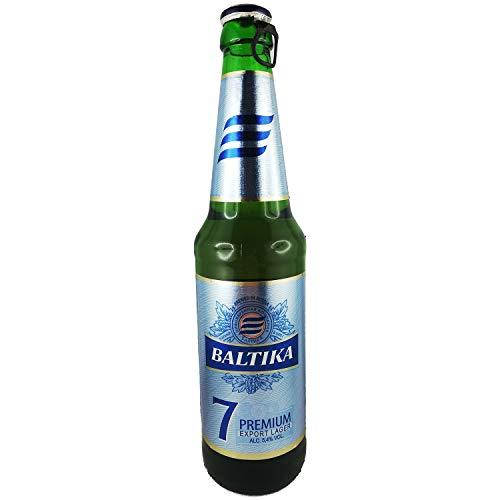 Baltika Nr. 7 Russisches Bier 5,4% vol. 20er Set + Gratis Geschenk
