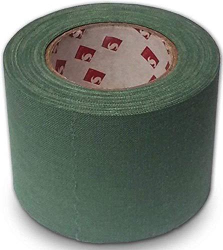 olivgrün Stoff Klebeband für Gurtband Reparatur 5cm x 10m Scapa Original British Army Issue SCHARFSCHÜTZE KLEBEBAND