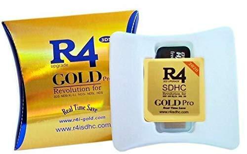 R4 per DS Lite - DSi - DSi XL - 3DS - 2DS/ new3dsxl - new2ds micro SD , funziona solo per i giochi normali