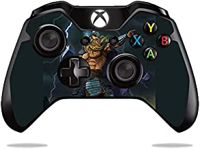 MightySkins Skin Compatible with Microsoft Xbox One or S Controller - God of Thunder | Protective, Durable, and Unique Vinyl wrap Cover | Easy to Apply, Remove, and Change Styles | Made in The USA