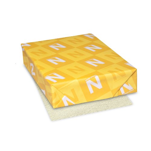 Classic Laid Premium Paper, 8.5' x 11', 24 lb, Baronial Ivory, 500 Sheets (06551)