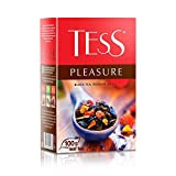 Black tea TESS wild rose + apple pleasure Beverages Grocery Gourmet Food [100 gramm]