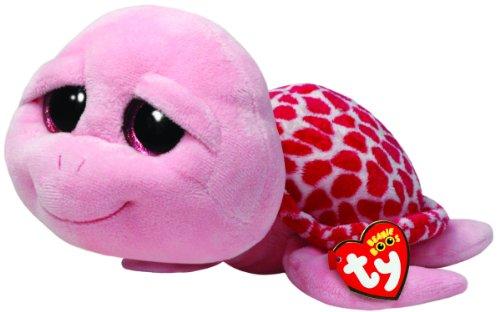 TY 7136990 7136990-Shellby Buddy-Schildkröte, Large, 24 cm, pink