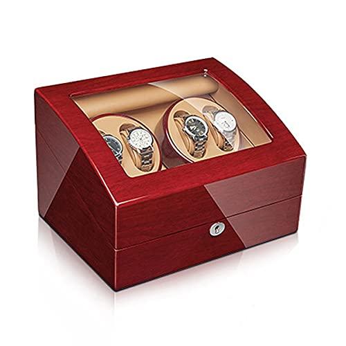 LYLSXY Reloj Winder para Reloj Automático De Hombres Y Mujeres, Recibiendo Ubicación Rotación De Reloj Motor Silencioso (Color : F)