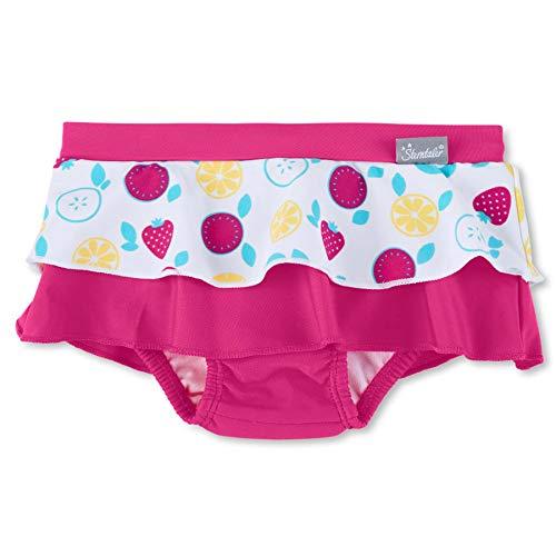 Sterntaler Mädchen Schwimmrock, UV-Schutz 50+, Alter: 3-4 Jahre, Größe: 98/104, Farbe: Magenta