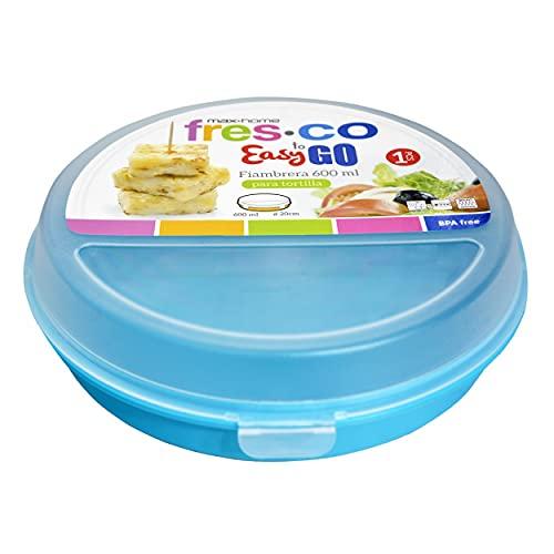 Portatortillas Circular de 20cm para ensaladas/Tortillas. Diseño Colorido - Hogar y más - A
