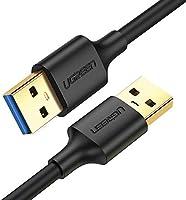 UGREEN Cable USB 3.0, Cable USB Tipo A Macho a Tipo A Macho, Transferencia de Datos de Alta Velocidad de hasta 5 Gbps...