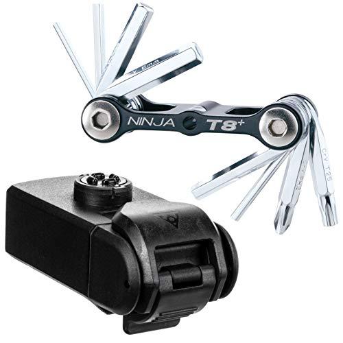 Topeak Ninja Toolbox T8 Boite à Outils Adulte Unisexe, Noir, 12