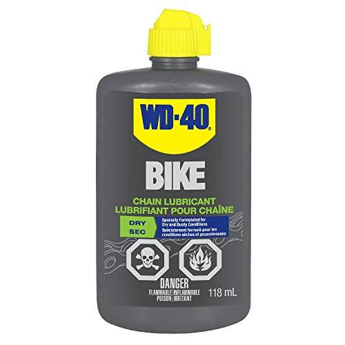WD-40 Bike 3002 Dry Chain Lubricant, 118ml
