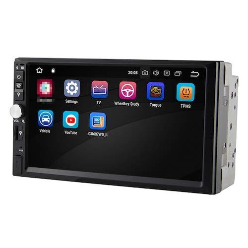 HaiMa Wg7092S-Mw 2Din Rk Px5 Android8.0 Octa-Core Universal Car Audio Car Gps Con Wifi Dab + Tpms Obd System 4G Ram + 32G Rom - Negro