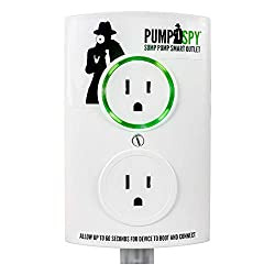 PumpSpy PSO1000 Wi-Fi Sump Pump Smart Outlet