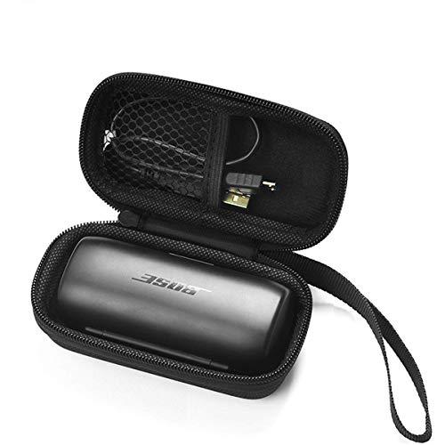 Flycoo - Funda rígida para auriculares Bose Soundsport Free (protección antigolpes, con cremallera)