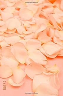 Notes: Password Book Cleverly Disguised With Beautiful Design / Peach Flower Petals Cover / Discreet Internet Username and...