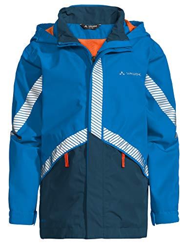 VAUDE Kinder Jacke Luminum II, Regene, radiate blue, 122/128, 413909461280