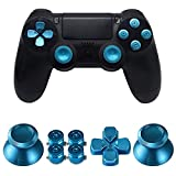 MMOBIEL tasti metallo connettore per Playstation 4 PS4, PS4 Slim, PS4 Pro Dualshock 4, levette...