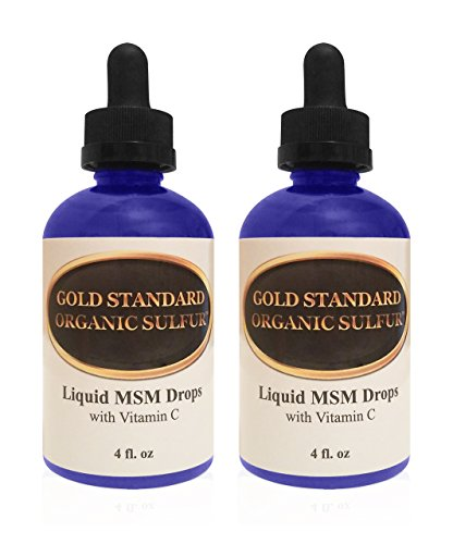 ✔ BEST VALUE FOR MONEY: Gold Standard Liquid MSM Drops have over 20 TIMES the amount of MSM compared to similar products (4000 mg instead of 185 mg in each bottle). ✔ 100% SAFE & NATURAL: Our Liquid MSM with Vitamin C is safe, natural, and made with ...