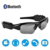 Bluetooth Sunglasses Camera,Camera Glasses Full HD 1080P with Wide Angle Mini Video Camera for...