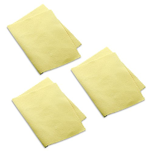 BERRICLE Set of 3 Silver Jewelry Polishing Cloth