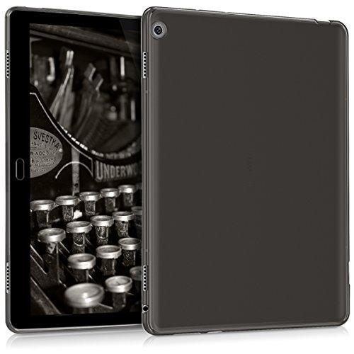 kwmobile Huawei MediaPad M3 Lite 10 Hülle - Silikon Tablet Cover Case Schutzhülle für Huawei MediaPad M3 Lite 10 - Schwarz
