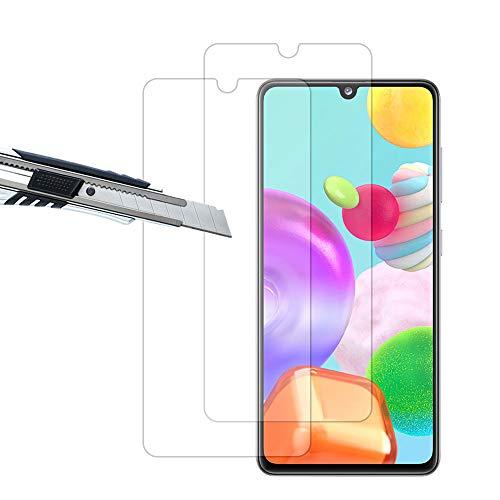 THILIVE (2 Stück Samsung Galaxy A41 Panzerglas, Displayschutzfolie panzerfolie, Folie gehärtetem Glas,9H Härte,Kratzfest,Glasfolie Glas Schutzfolie-klare