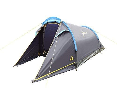 Best Camp, Tenda da Campeggio Woodford 2, Blu (Blau)