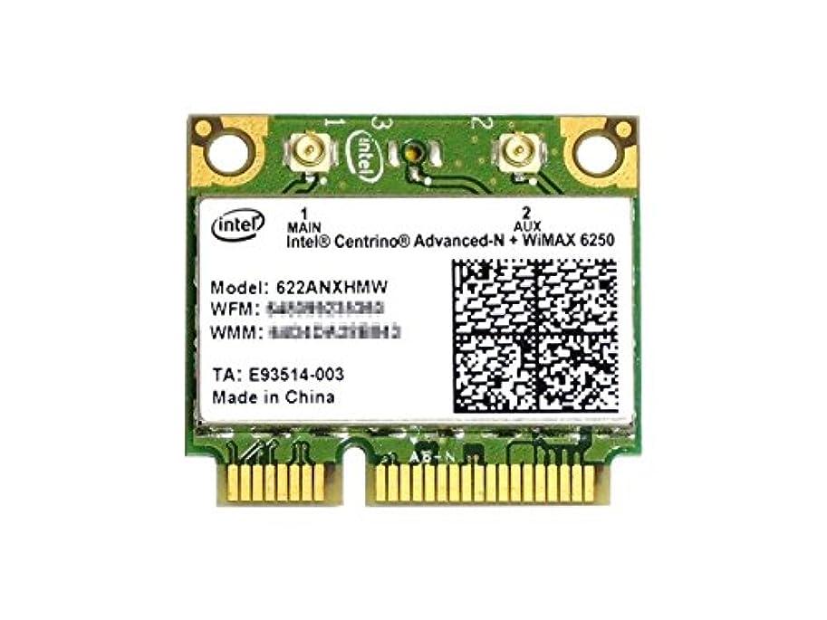 インテル Intel Centrino Advanced-N + WiMAX 6250 Dual Band 802.11a/b/g/n 300Mbps +Wimax PCIe Mini half 無線LANカード 622ANXHMW