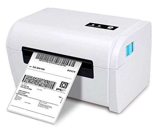 USB Electronic Face Sheet Printer Thermal Label Maker, for Express Electronic Waybill, Self-Adhesive Label, QR Code Barcode, Support Up to 110mm Label Paper,
