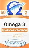 Vitarmonyl Omega 3 ● Integratore 60 perle ● Benessere cardio-vascolare ● Con Vitamin...