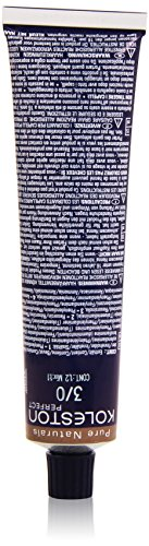 Wella Professionals Koleston Perfect Permanente CremeHaarfarbe, 3/ 0 dunkelbraun, 1er Pack (1 x 60 ml)
