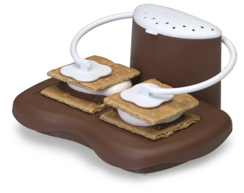 Progressive Prep Solutions Microwave S'mores Maker, Brown/White