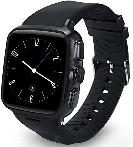 Burbe Fitness Tracker Smart Watch, Activity Tracker mit Herzfrequenz-Blutdruck-Monitor, Schlaf-Monitor-Pedometer-Armband, Plug-in-Karte, Call WiFi, AKE Fotos und Spekulieren in Aktien Armband f.