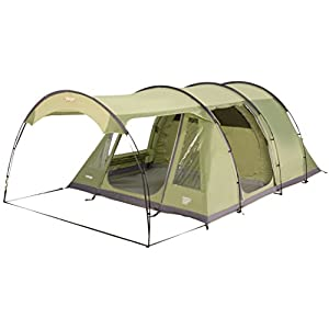 Vango Odyssey 500SC Family Tents, Poled, Green with Sun Canopy