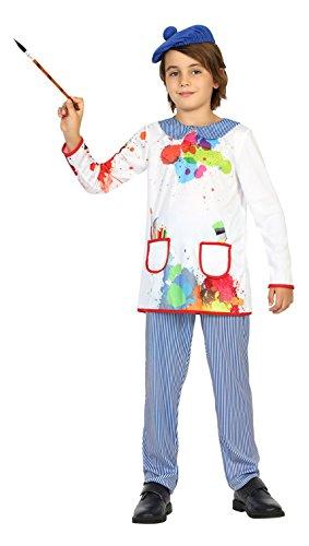 Atosa- Disfraz Pintor, 7 a 9 años (22151)