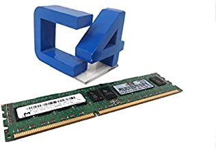 HP - Memory - 2 GB - DIMM 240-pin - DDR3 - 1333 MHz / PC3-10600 - CL9 - registered - ECC 2GB 2RX8 PC3-10600R-9 KIT Manufacturer Part Number 500656-B21