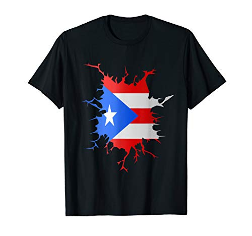Retro Puerto Rico Gifts Proud Boricua Puerto Rican Gift T-Shirt