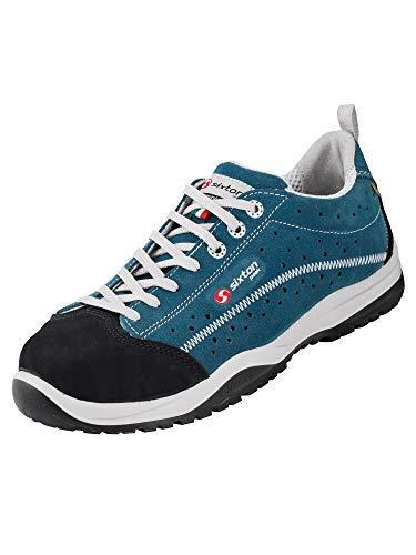 SIXTON Sicherheitsschuhe Pasitos S1P, Farbe:blau/schwarz, Schuhgröße:44 (UK 9.5)