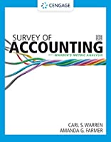 Survey of Accounting: With Warren's Metric Analysis
