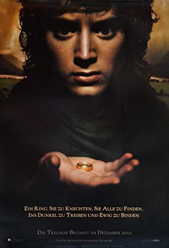 Der Herr der Ringe: Die Gefährten: Teaser B (2001)   original Filmplakat, Poster [Din A1, 59 x 84 cm]