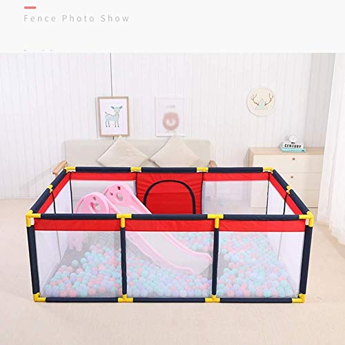 Best Bargain JN Child Safety Fence Baby Playpen Extra Large Twins Kids Activity Centre Stable Oxford...
