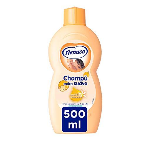 Nenuco Champú Extra Suave para bebé con miel y camomila - Paquete 6 x 500 ml
