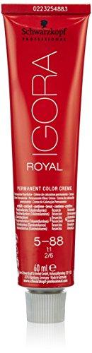 Schwarzkopf IGORA Royal Premium haarkleur 5-88 lichtbruin rood extra, per stuk verpakt (1 x 60 ml)