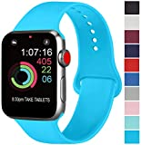 AK Compatible avec Apple Watch Bracelet 42mm 38mm 44mm 40mm, Bracelet de Sport en...