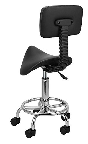 Hydraulic Saddle Salon Stool