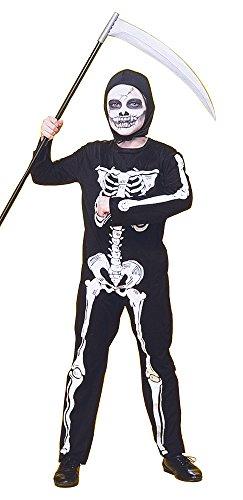 Rubies - Disfraz infantil de esqueleto, 5-7 años (Rubie