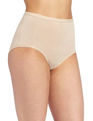Wacoal Women's B-fitting Brief Panty, Naturally Nude, One Smallize by Wacoal Women's IA