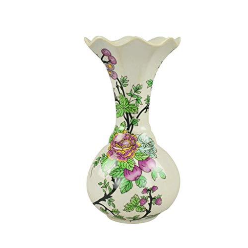 HJHJK Vintage Porzellan Vase Satsuma handgemalte Keramik Vase