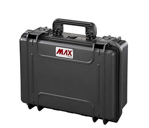 Max Cases - valigetta Vuota a Tenuta Stagna, Ermetica per Trasportare e Proteggere Apparecchiature e Materiali Sensibili, MAX430V, Dimensioni Interne 426 x 290 x 159 mm