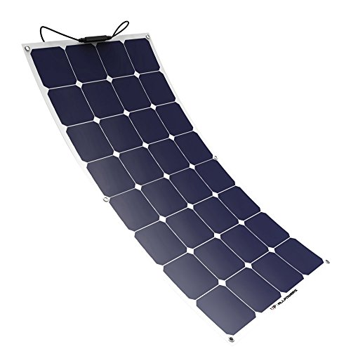 ALLPOWERS Panel Solar 100W 18V 12V Sunpower de Panel Solar Célula ...