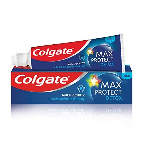 Colgate Zahnpasta Max Protect Detox Multi-Schutz, 75 ml - Zahncreme bietet antibakteriellen Schutz