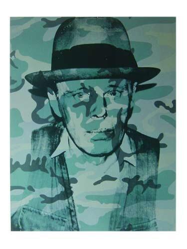 Kunstdruck / Poster Andy Warhol - Joseph Beuys - 60 x 80cm - Premiumqualität - Klassische Moderne, Amerikanische Kunst, Pop Art, Portrait, People & Eros, Persönlichkeiten - MADE IN GERMANY - ART-GALERIE-SHOPde
